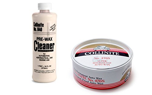 Collinite 840 Pre-Wax Cleaner & 476S Super Doublecoat Paste Wax