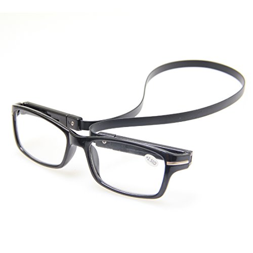 topstaronline new black or brown frame power reading