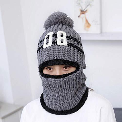 a164864db09f5 Amazon.com  Love Environment 1pc Windproof Men Winter Wool Ski Hat Scarf Cap  for Women Bonnet Earmuffs Head Caps Hats Male Beanie Face Mask Balaclava ...