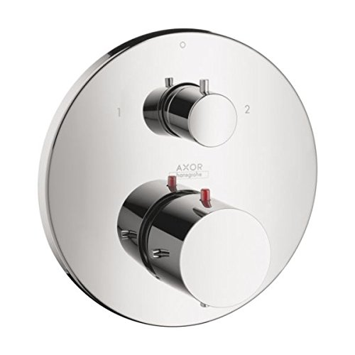 AXOR 10720001 Starck Thermostatic Trim with Volume Control and Diverter, Chrome AXOR