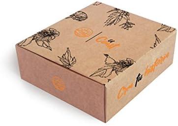 Caja de cartón 21x18x08 cm personalizada (1): Amazon.es: Oficina y papelería