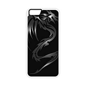 SPRAWL New Fashion Design Hard Protect Skin Case Cover Shell for Mobile Cell Phone dark dragon TPU Phone case cover for iphone6 4.7 inch,white