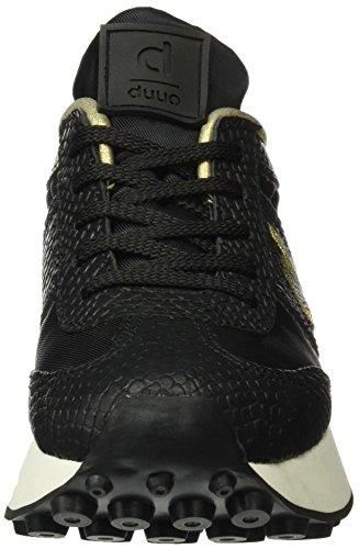 escamado Top Sneaker Nero 03 Duuo Donna Quim TwqfXX
