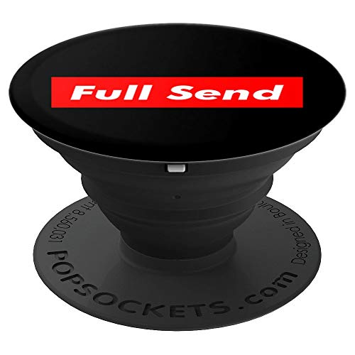 Full Send - For the Boys Only - PopSockets Grip and Stand for Phones and Tablets