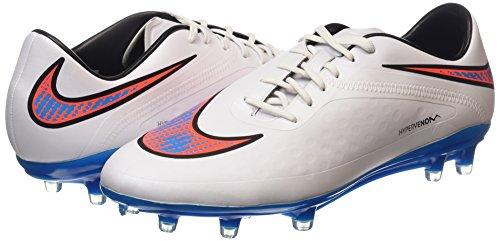 Nike Men's Hypervenom Phatal FG - (WHITE/BL LAGOON-TTL CRMSN-BLK) (7) 7qaxz