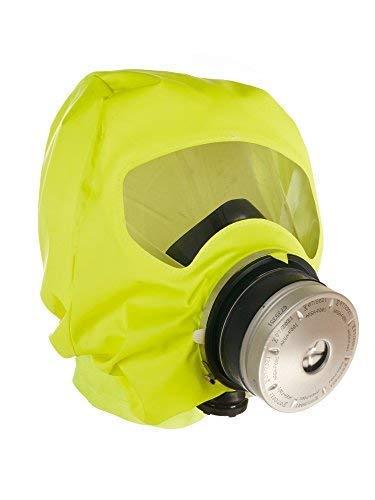 Dräger PARAT 5520 - máscara de Escape respiratoria ergonómica con Filtro CO P2 - protección Ante Gases de Incendio, vapores y combustión - Funda Blanda: ...