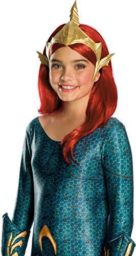 Rubie's Girls Aquaman Movie Deluxe Mera Tiara Costume Headwear