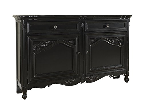 Pulaski Vanessa Hall Console, 60 by 12 by 37-Inch, Black