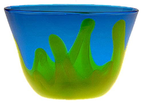 Blenko Glass Bowl, Fire and Ice (1906-3)