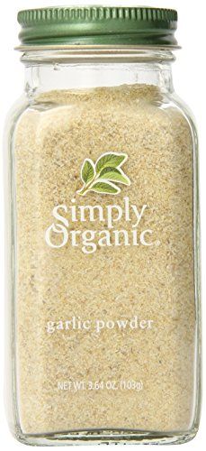 (Simply Organic Garlic Powder Certified Organic, 3.64-Ounce Container)