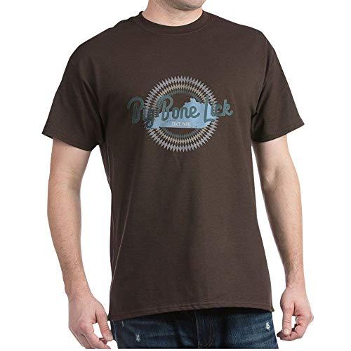 CafePress Big Bone Lick State Park T Shirt 100% Cotton T-Shirt Brown
