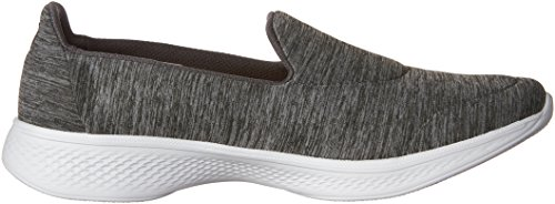 Femme Achiever Walk Skechers Go Gris Grey 4 Baskets Basses q6P7wCP