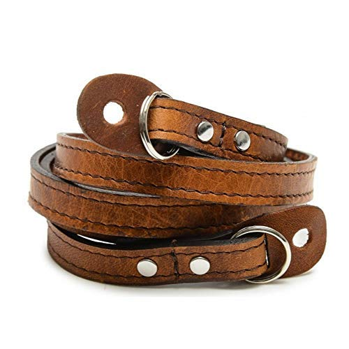 ONA Sevilla 40'' Camera Strap, Handcrafted Premium Leather, Antique Cognac Brown