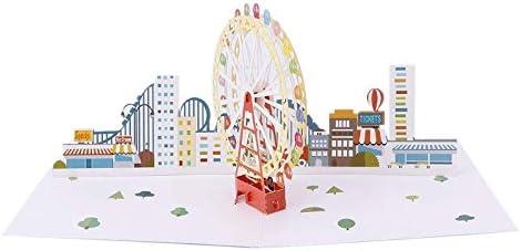 Félicitations Carte adapté pour maison neuve carte 3D Pop Up Carte Carte Cadeau