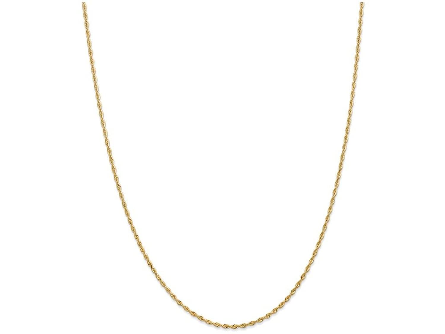 Finejewelers 9 Inch 14k Yellow Gold Circle Chain bright-cut Rice Puff Beads W//1in Ext Anklet