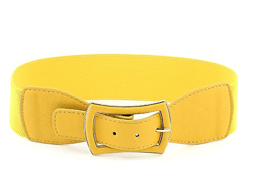 Bowknot Shaped Buckle Elastic Waistband