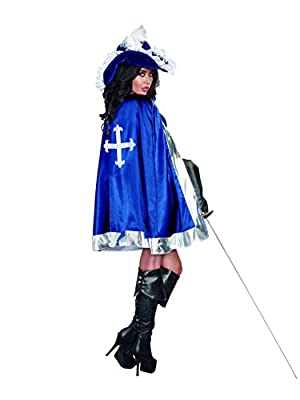 Dreamgirl Women's Mighty Musketeer French Conqueror Warrior Costume