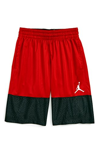 NIKE Jordan Air Youth Boys Wings Block Out Basketball Shorts Size M, L, XL (Large (12-13yrs))