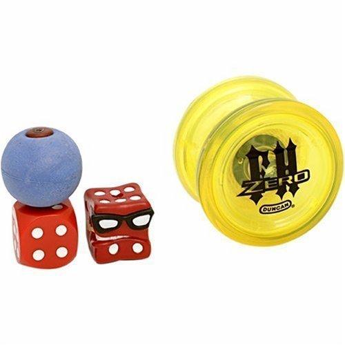 Duncan Freehand Zero Yo-Yo - White and Red - Freehand Zero Yo Yo