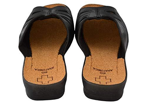 Scarpe Bianco Nero Sandalias 41 Donna 36 Sughero Comodo 050 Ciabatte Ospedale Bawal Lavoro Sanitarie Da Pantofole pGzMSUVq