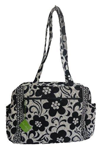 Vera Bradley Make a Change Baby Bag (Night & Day with Solid Black Interior)