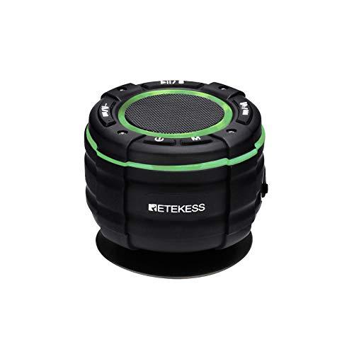 Retekess TR622 Bluetooth-doucheradio, IP67 Waterdichte Radio, Stofdichte Draadloze Bluetooth 5.0-luidspreker Draagbaar…