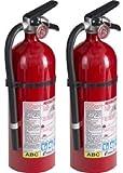 Tools & Hardware : Kidde 21005779 Pro 210 Fire Extinguisher, ABC, 160CI, 4 lbs, 2 Pack