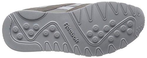 Nylon Reebok Grey White Whispher Laufschuhe Classic Herren Grau RrxrE