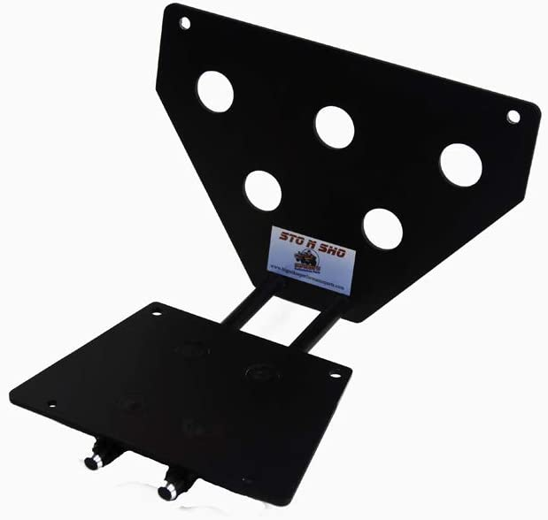 STO N SHO Front License Plate Bracket for 1993-2003 Ford Lightning