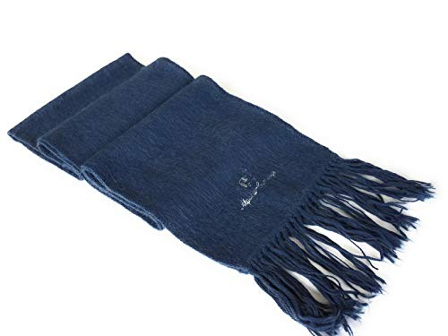 Alpaca Wool Scarf Authentic Peruvian Natural Fiber Wool Shawl, Fringed design 70