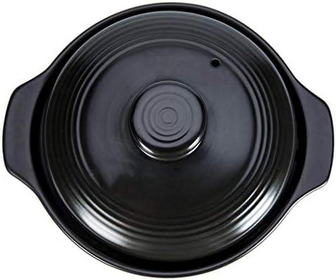 Antiadhésives Faitout Casserole Marmite, Anti-Warp non Toxic Free antiadhésives Batterie de cuisine, induction Compatible, Lave-vaisselle Four Coffre antiadhésives Pot QIANGQIANG