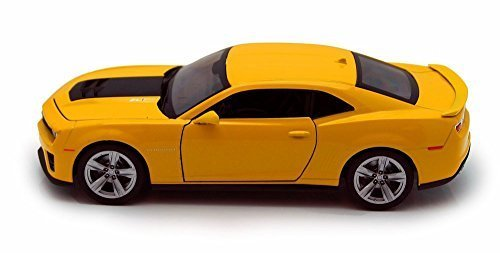 Welly Chevy Camaro ZL1, Yellow 24042 - 1/24 scale Diecast Model Toy Car