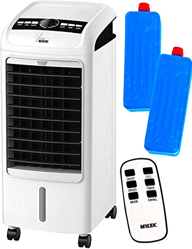 MYLEK Portable Air Cooler for Home with Remote Control & LCD Display -...