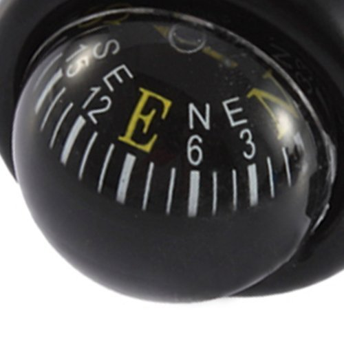 SODIAL(R) Bike Metal Alarm Horn Sound Mountain Cycling Compass Ball Bell Bicycle