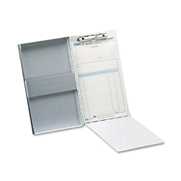 Superior Saunders Recycled Aluminum Snapak Form Holder, Memo Size, Fits Paper Size  Up To 6