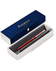 Save on Waterman Graduate Allure bolígrafo, lacado rojo, punta mediana, tinta azul, estuche de regalo and more