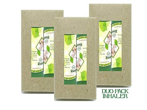 Sinus Inhalers Set Of 2 Lung Relief Essential Oils Blend Respiratory Wellness Aromathaerapy Natural Pocket Purse Stick Handy Portable ()