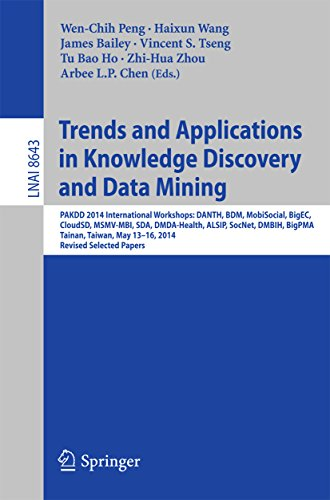 Trends and Applications in Knowledge Discovery and Data Mining: PAKDD 2014 International Workshops: DANTH, BDM, MobiSocial, BigEC, CloudSD, MSMV-MBI, SDA, ... Papers (Lecture Notes in Computer Science)