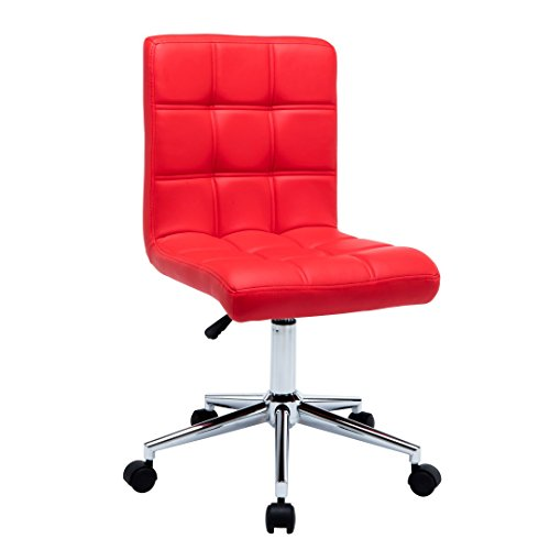 Porthos Home Finch Office Chair, Red by Porthos Home