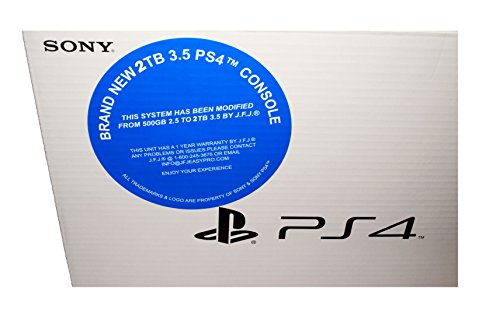 Sony Playstation 4 (Black) NEW with FREE PS4 Star Wars Video Game. - 4