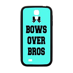 Bows Over Bros Black Phone Case for Samsung Galaxy S4