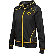 "Iowa Hawkeyes Women's NCAA ""Scaled"" Full Zip Premium Jacket"