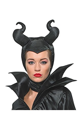 Rubie's Official Adult's Disney Sleeping Beauty Maleficent Headpiece Costume - One Size, Black -
