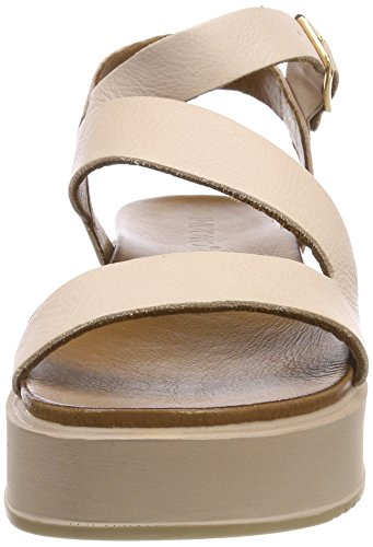 Inuovo Women's 8722 Ankle Strap Sandals, Nero Pink (Blush 12285951)