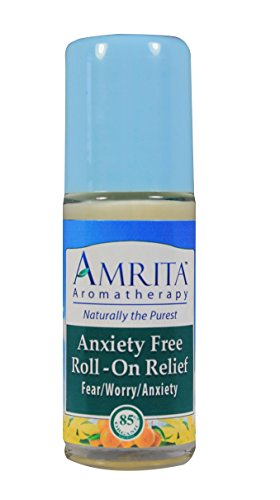 Anxiety Free Roll-On Relief  By Amrtia Aromatherapy with The