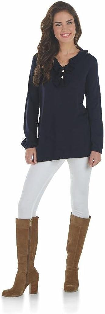 Mud Max 85% OFF Pie Ranking TOP16 Laura Sweater Navy Ruffle