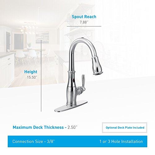 Moen 7185EORB Brantford Kitchen Faucet