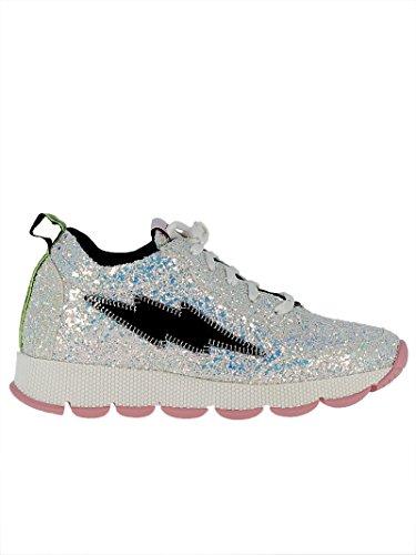 Leo Studio Design Damer Srn01glwh Sølv Glitter Sneakers pQtFbHX
