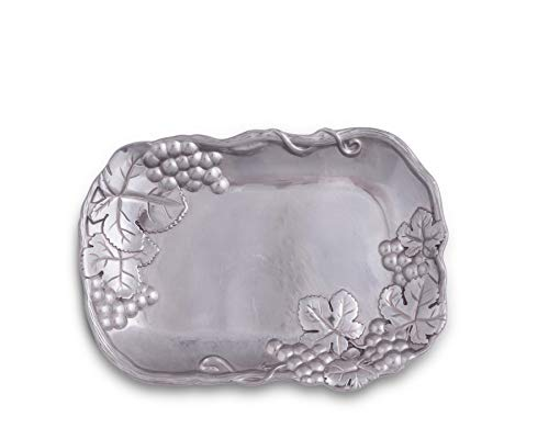 Arthur Court Grape Catch-All Coupe Tray, 9-1/2-Inch