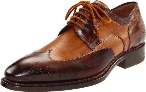Mezlan Men's Copa Sandal,Brown/Tan,9 D US (Italian Man Sandals compare prices)